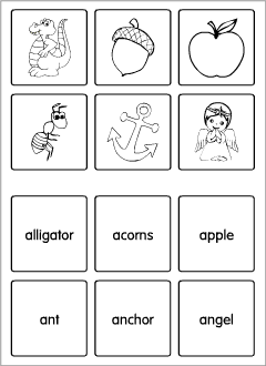 English abc: flashcards
