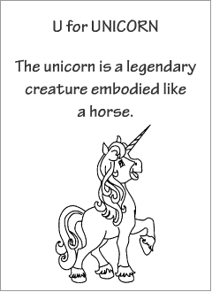 English printable resources: Unicorn readers
