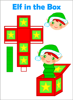 Christmas crafts for kids learning English