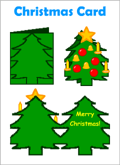 Christmas cards for kids learning English