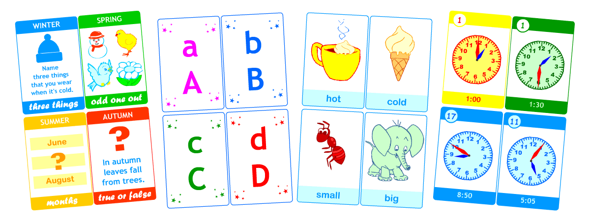 pdf flashcards for learning english