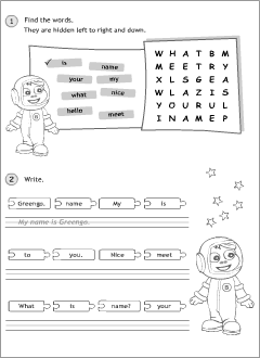 Everyday English worksheets