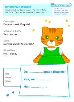Yes / No questions in English | Printable resources
