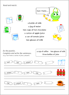Printable materials to learn English