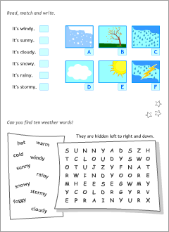 English activities for kids to print