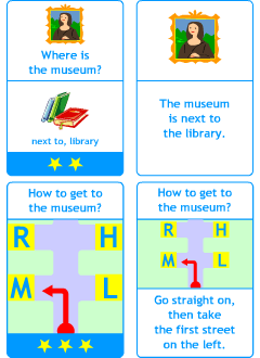 Flashcards for learning games