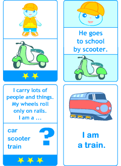 Flashcards for young learners