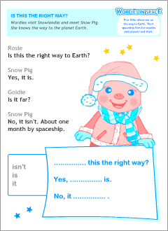 Printables for young English learners