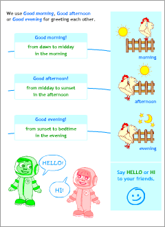 Greetings in english printable resources english lessons expressions m4hsunfo Images