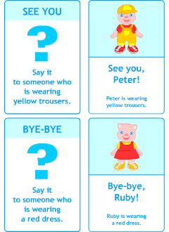 Printable ESL flashcards
