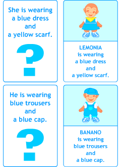 Flashcards for teaching English to kids
