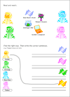 ESL worksheets for kids
