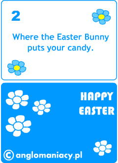 Easter card games for kids learning English