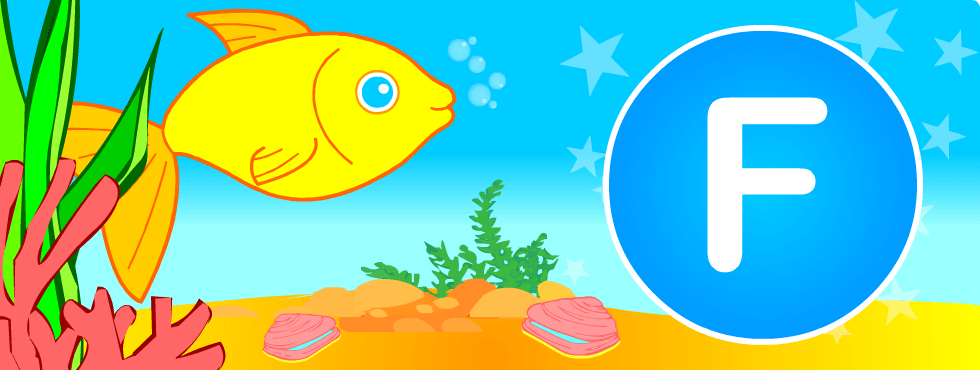 English resources: Fish games, printables