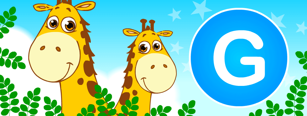 English resources: Giraffe games, worksheets