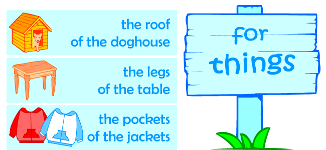 English nouns activities for kids