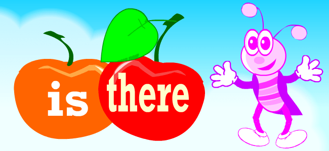 English grammar exercises: there is, are