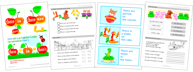 there is there are set of printables for kids learning english grammar. Black Bedroom Furniture Sets. Home Design Ideas