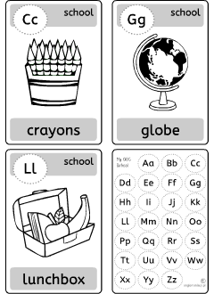 Grammar flashcards: English ABC