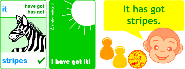 Kids' games to learn the verb have got