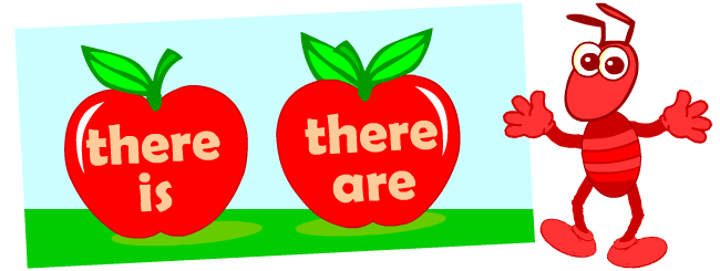 There is, there are | Grammar posters for kids learning English