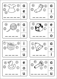 Grammar worksheets: English ABC