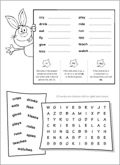 English printables: worksheets