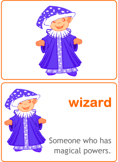 Halloween flashcards for kids learning English