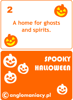 Halloween card games for kids learning English