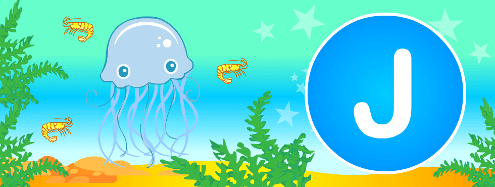 English resources: Jellyfish fun games, printables
