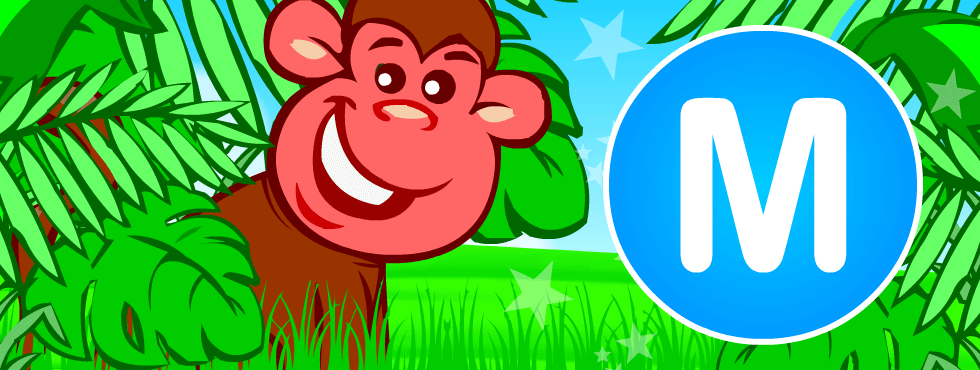 English resources: Monkey fun games, printables