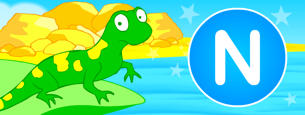 English resources: Newt fun games, printables