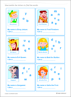 English teacher's resources: worksheets to practise common and proper nouns