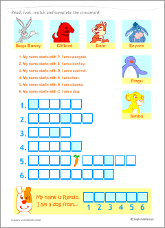 Common and proper nouns: ESL worksheets