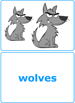 Flashcards to teach English nouns