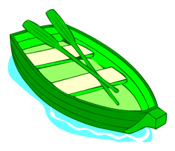 English words: boat