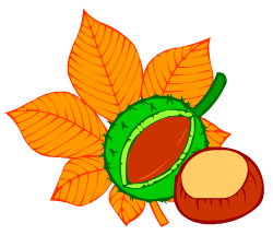 English words: chestnuts