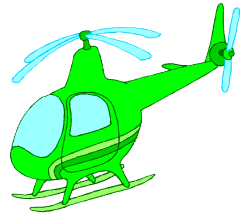 English vocabulary: helicopter