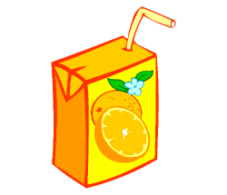 English words: juice
