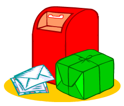 English words: post office