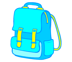 English words: schoolbag