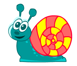 English words: snail