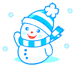 English words: snowman