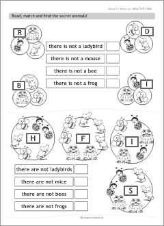 Worksheets for kids learning English verbs