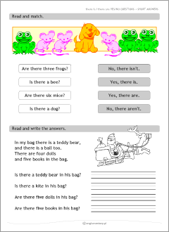 There is, there are: ESL worksheets