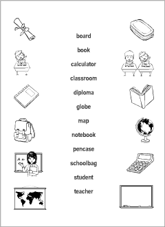esl resources for teachers and students - School Worksheet Printables