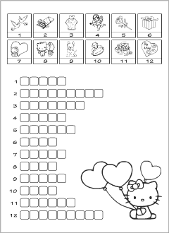 Printables for teaching English to kids