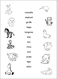 Animals Gender B&W worksheets | English | Pinterest | Worksheets